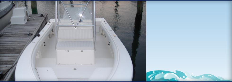 20' 2006 Cobia Forward and Center Seating